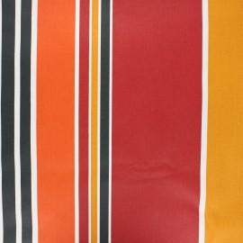 Tissu coton enduit Ainhoa - terracotta x 10cm