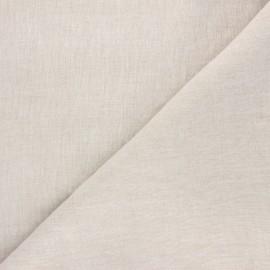 Tissu lin lavé Fresco - naturel x 10cm