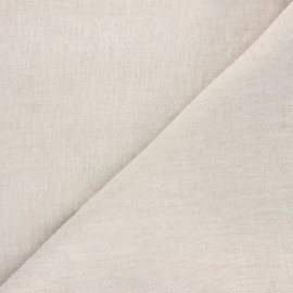 Washed linen fabric - natural Fresco x 10cm