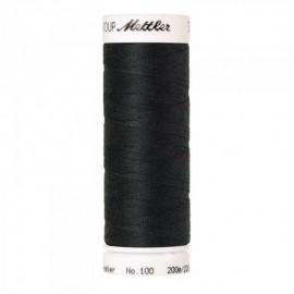 Bobine de fil Mettler Seralon 200m - N°1282 - Charbon