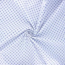 Poplin cotton fabric - white Wiri x 10cm