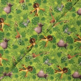 Jersey fabric - green Madagascar crew x 10cm