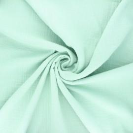 Double gauze fabric - green Marion x 10cm