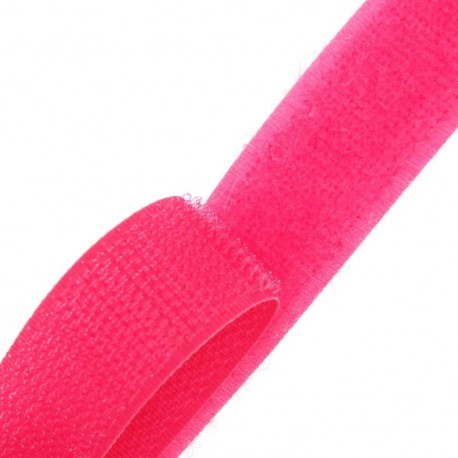 Self gripping Sew-on tape 20 mm - fuchsia