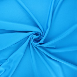Glossy lycra fabric - turquoise x 10cm