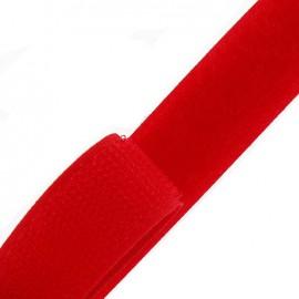 Ruban Auto-agrippant 20 mm -rouge x 1m