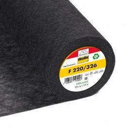 F220 Vilene iron-on interlining – grey x 10cm