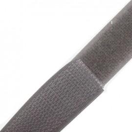 Ruban Auto-agrippant 20 mm - gris clair x 1m