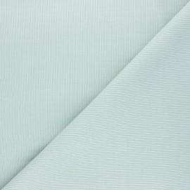 Plain knit jersey fabric - opaline x 10cm