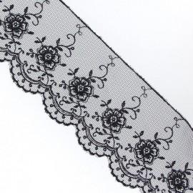 Valenciennes lace - black