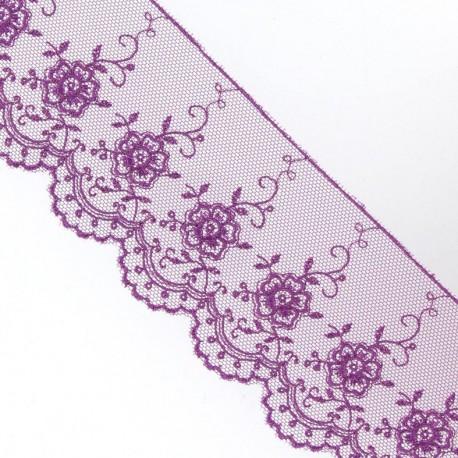 Dentelle Valencienne violet