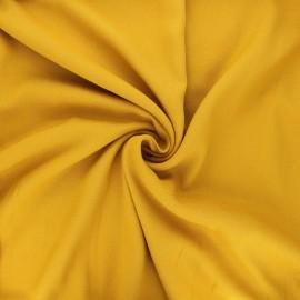 Viscose crepe fabric - mustard yellow Vikki x 10cm