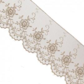 Valenciennes lace - beige