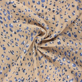 Viscose fabric - sand Monica x 10 cm