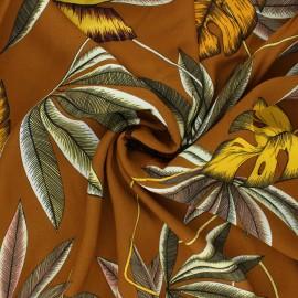 Viscose fabric - camel Fosca x 10 cm