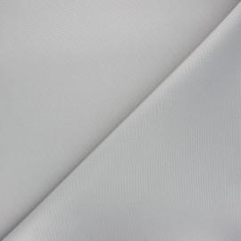 Tissu toile polyester imperméable souple Una - gris clair x 10cm