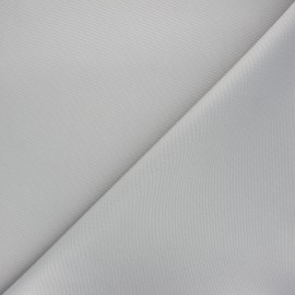 Waterproof canvas fabric - light grey Una x 10cm