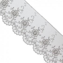 Valenciennes lace - grey