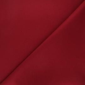 Tissu toile polyester imperméable souple Una - bordeaux x 10cm