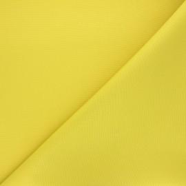 Tissu toile polyester imperméable souple Una - vert citron x 10cm