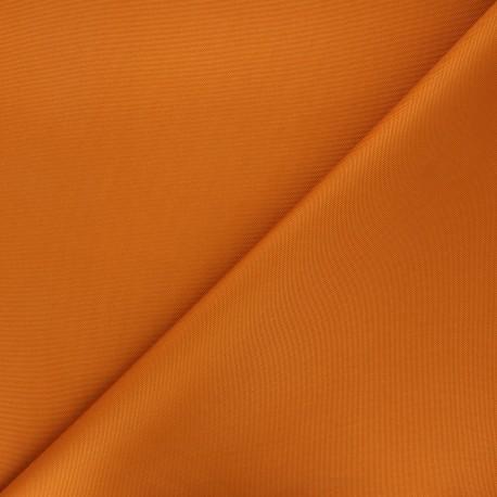 Tissu toile polyester imperméable souple Una - caramel x 10cm