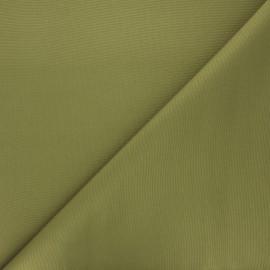 Tissu toile polyester imperméable souple Una - vert x 10cm