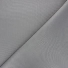 Tissu toile polyester imperméable souple Una - gris x 10cm