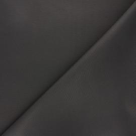 Tissu toile polyester imperméable souple Una - gris foncé x 10cm