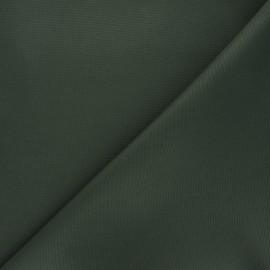 Tissu toile polyester imperméable souple Una - kaki x 10cm