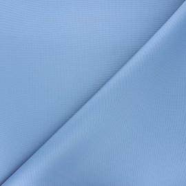 Tissu toile polyester imperméable souple Una - bleu houle x 10cm