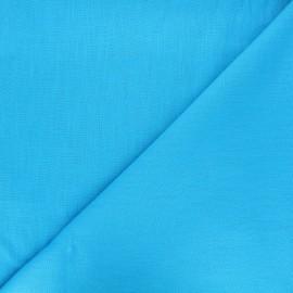 Plain linen fabric - turuqoise Dolce x 10 cm