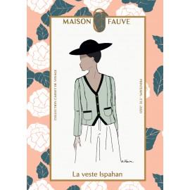 Coat Sewing Pattern Maison Fauve - Ray
