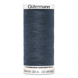 Bobine de Fil Jeans Gutermann 100 m - N°7635