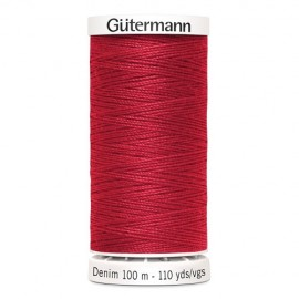 Bobine de Fil Jeans Gutermann 100 m - N°4495
