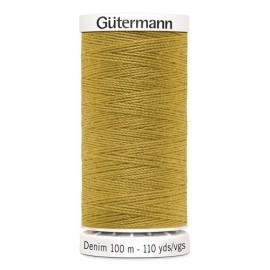 Bobine de Fil Jeans Gutermann 100 m - N°1310