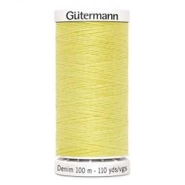 Bobine de Fil Jeans Gutermann 100 m - N°1380