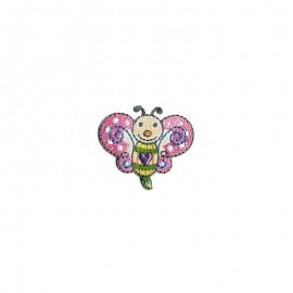 Thermocollant Cute animals - Papillon