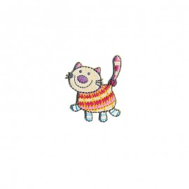 Thermocollant Cute animals - Chat