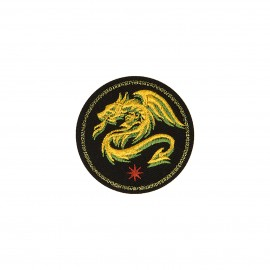 Blason iron-on patch - Dragon Royal animals