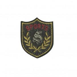 Blason iron-on patch - Sports Royal