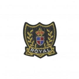 Blason iron-on patch - Royal life Royal