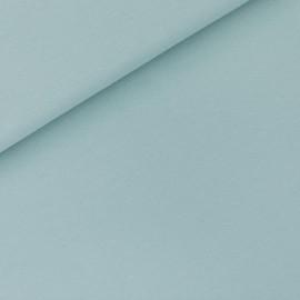 Tissu See you at six sweat léger - bleu tourmaline x 10cm