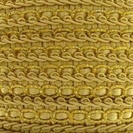 Galon robe 13mm ocre jaune