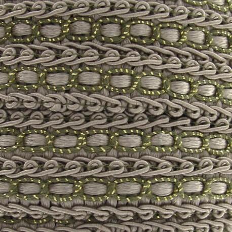 Dress braid trimming ribbon 13 mm - beige