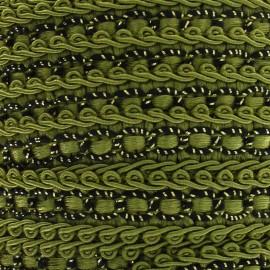 Galon robe 13mm vert olive