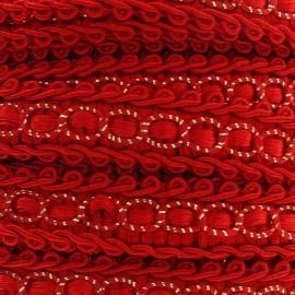 Galon robe 13mm rouge