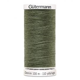 Bobine de Fil Jeans Gutermann 100 m - N°9025