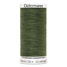 Bobine de Fil Jeans Gutermann 100 m - N°9250