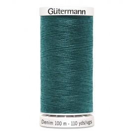 Bobine de Fil Jeans Gutermann 100 m - N°7735