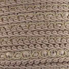 Dress braid trimming ribbon 13 mm - light beige